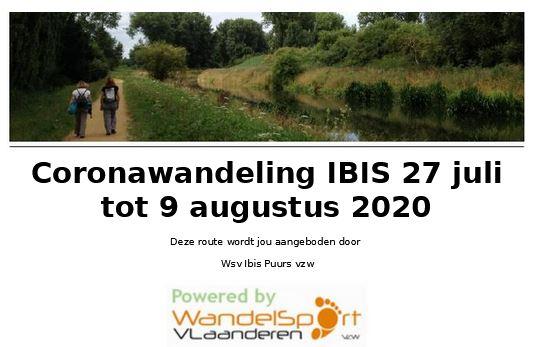 IBIS OP WANDEL